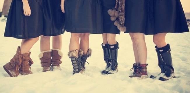 Winter Wedding Footwear Ideas 7