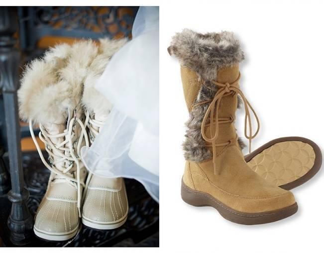 Winter Wedding Footwear Ideas 8