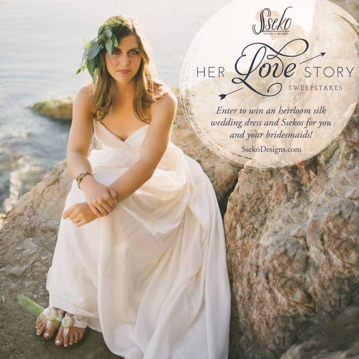 Her Love Story Sweepstakes with Celia Grace + Sseko Designs