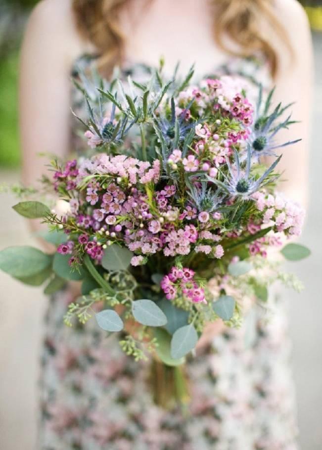 17 Beautiful Wildflower Wedding Bouquet Ideas