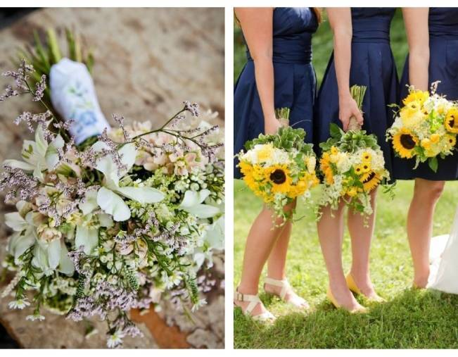 Beautiful Wildflower Wedding Bouquet Ideas 11