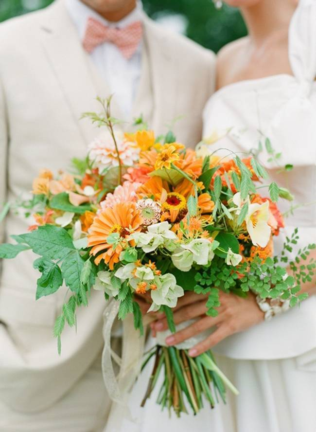 Beautiful Wildflower Wedding Bouquet Ideas 12