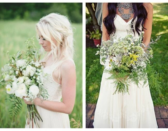 Beautiful Wildflower Wedding Bouquet Ideas 5