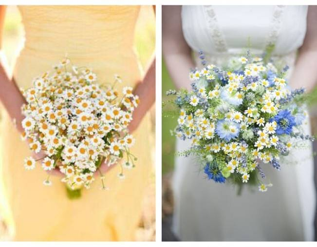 Beautiful Wildflower Wedding Bouquet Ideas 9