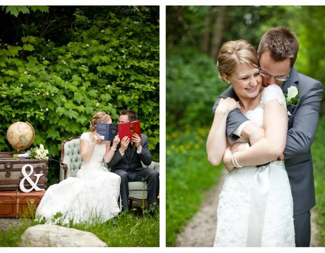 Book Themed British Columbia Wedding {Vanessa Voth Photography} 12