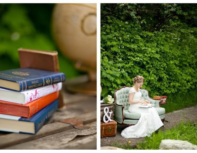 Book Themed British Columbia Wedding {Vanessa Voth Photography} 8