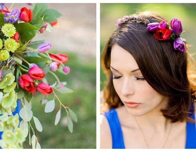 Bright + Bold Spring Floral Inspiration {Holeigh V Photography} 4