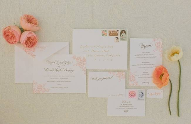 Peach + Coral Shoot at Holman Ranch {Carlie Statsky Photography} 1