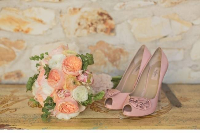 Peach + Coral Shoot at Holman Ranch {Carlie Statsky Photography} 7