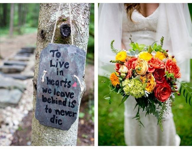 Red Rustic Wedding in Vermont {Ampersand Wedding Photography} 11
