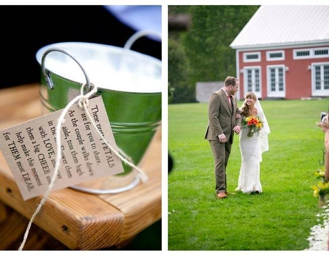 Red Rustic Wedding in Vermont {Ampersand Wedding Photography} 13
