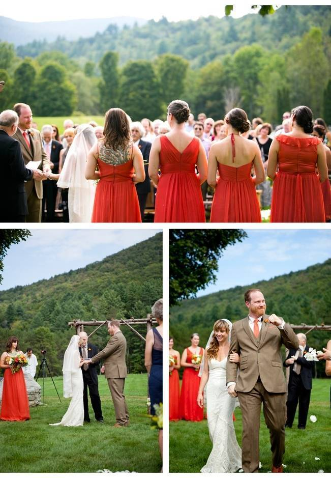 Red Rustic Wedding in Vermont {Ampersand Wedding Photography} 15