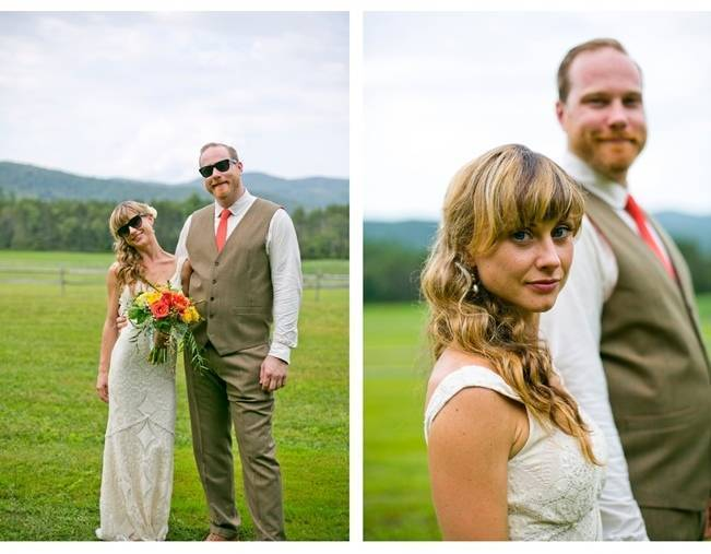 Red Rustic Wedding in Vermont {Ampersand Wedding Photography} 17