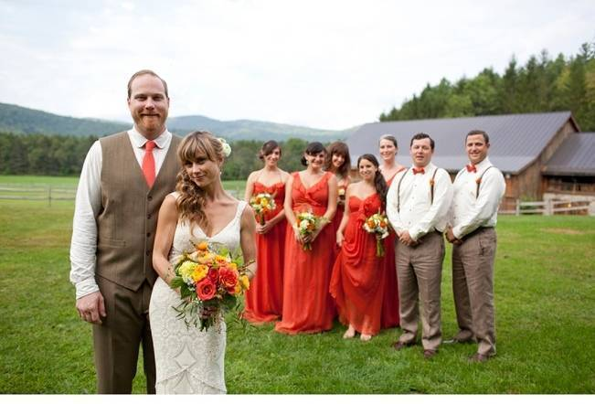 Red Rustic Wedding in Vermont {Ampersand Wedding Photography} 18