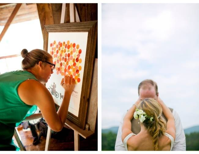 Red Rustic Wedding in Vermont {Ampersand Wedding Photography} 26