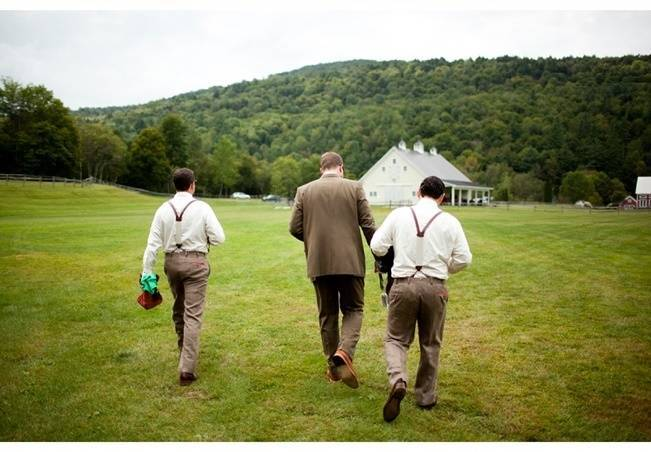 Red Rustic Wedding in Vermont {Ampersand Wedding Photography} 9
