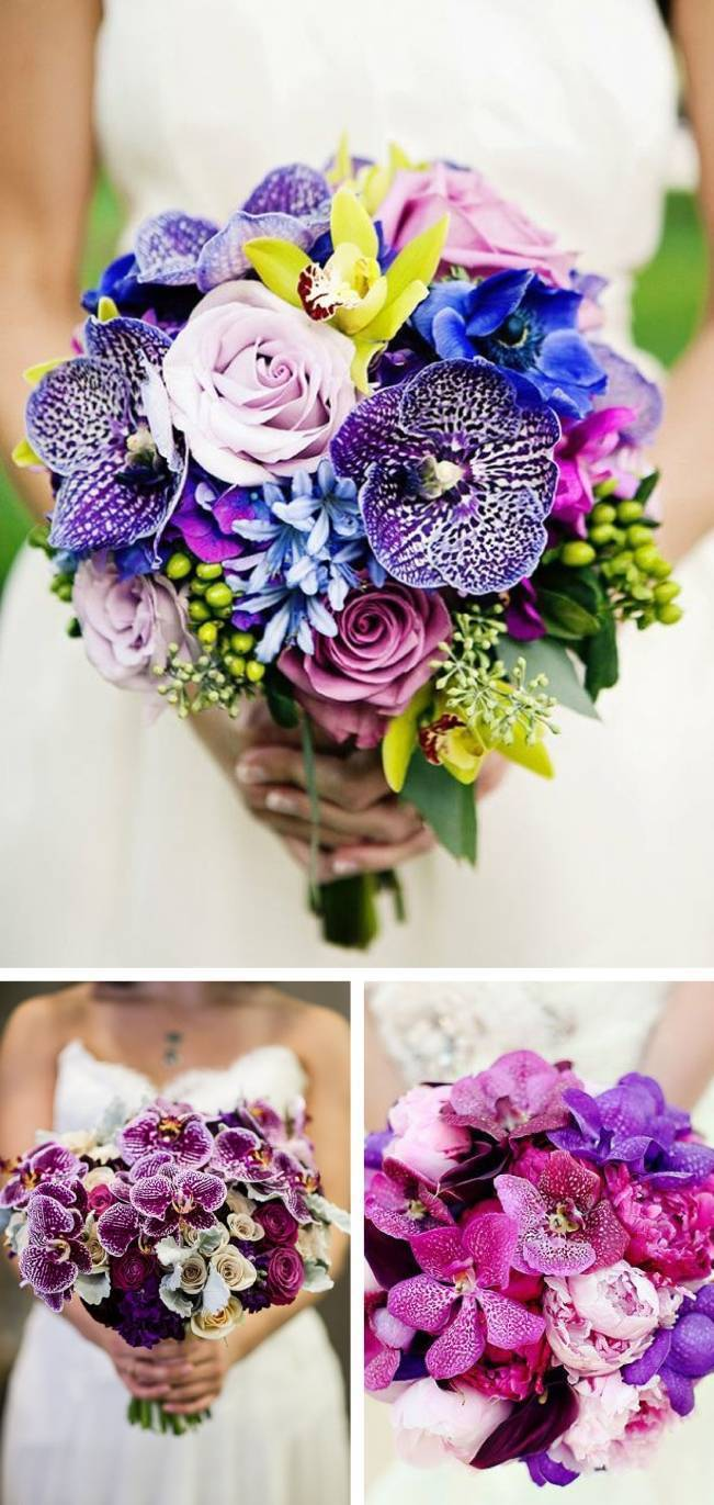 Spotted and Speckled Orchid Bouquets