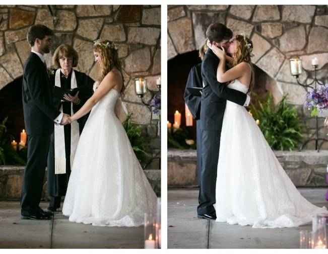 Woodland Wedding at Stone Mountain {Anna and Spencer Photography} 12