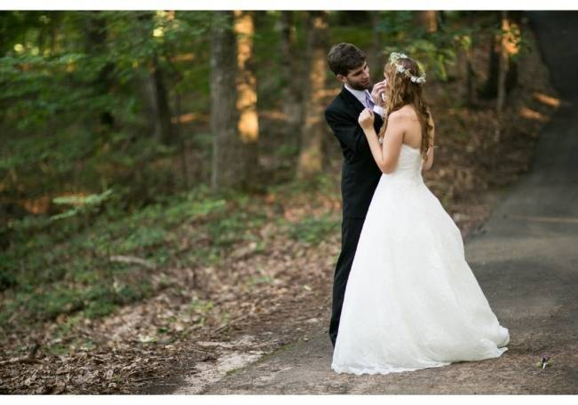 Woodland Wedding at Stone Mountain {Anna and Spencer Photography} 14