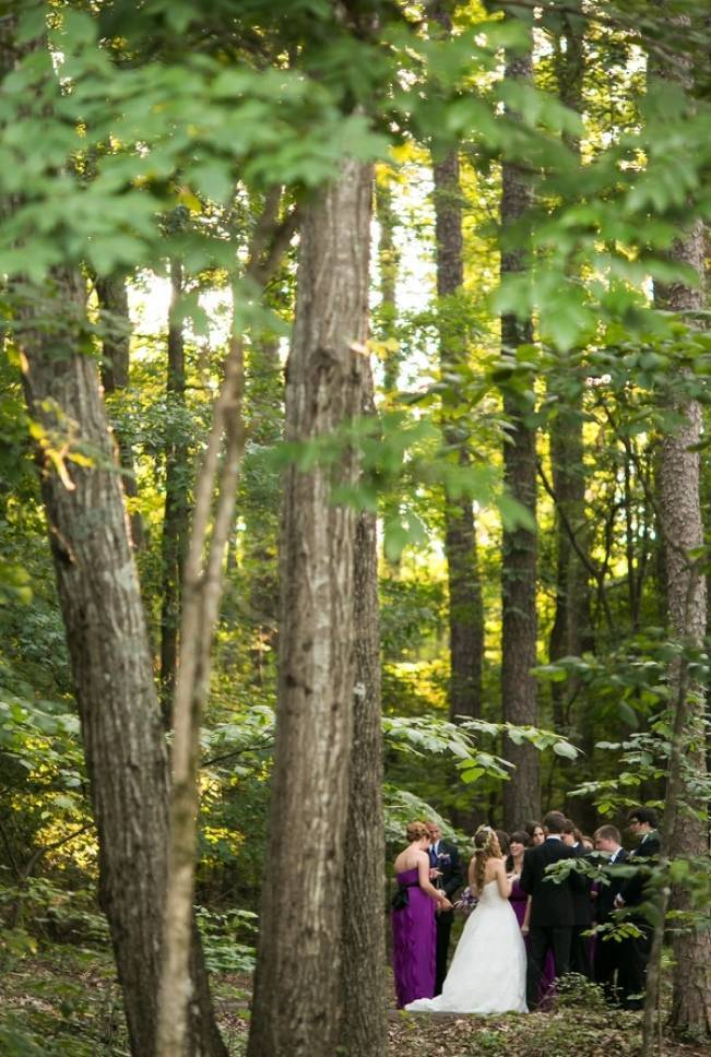 Woodland Wedding at Stone Mountain {Anna and Spencer Photography} 17