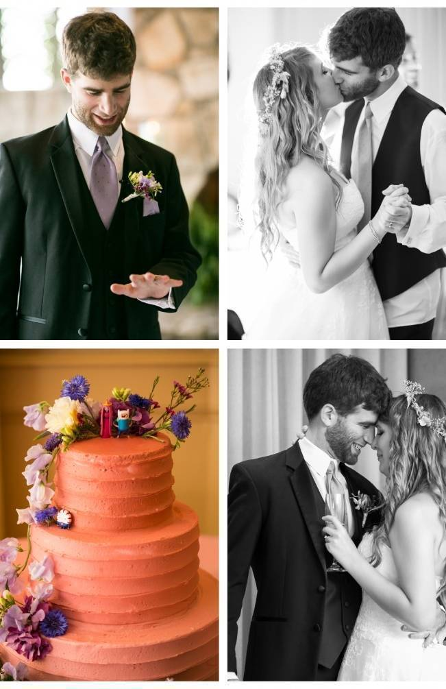 Woodland Wedding at Stone Mountain {Anna and Spencer Photography} 18