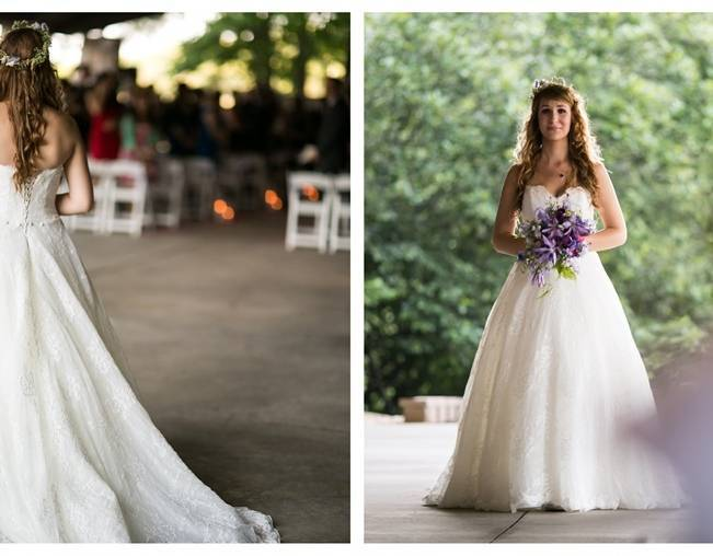 Woodland Wedding at Stone Mountain {Anna and Spencer Photography} 9