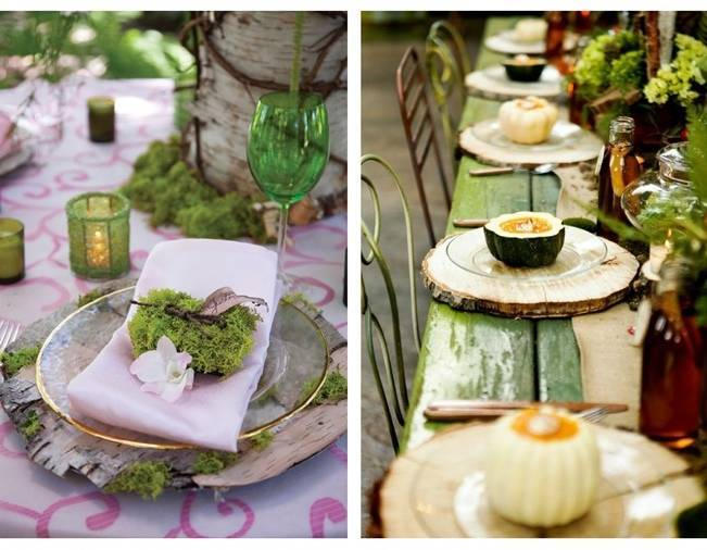 17 Naturally Pretty Place Settings 12