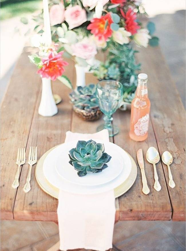 17 Naturally Pretty Place Settings 13