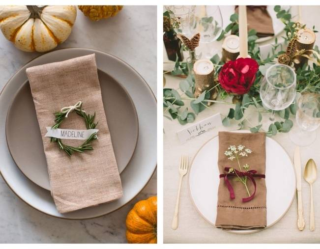 17 Naturally Pretty Place Settings 8