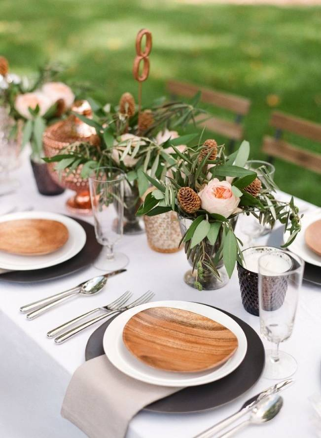 17 Naturally Pretty Place Settings
