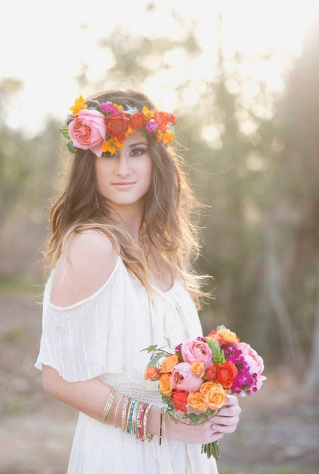 Bohemian Gypsy Bridal Style {Christa Elyce Photography}