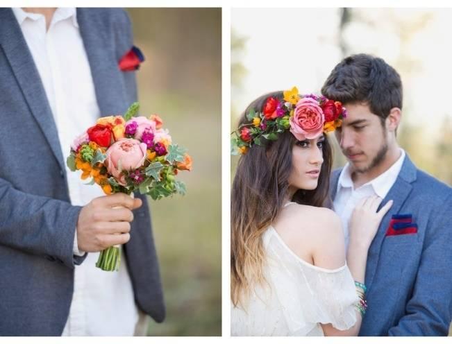 Bohemian Gypsy Bridal Style {Christa Elyce Photography} 2