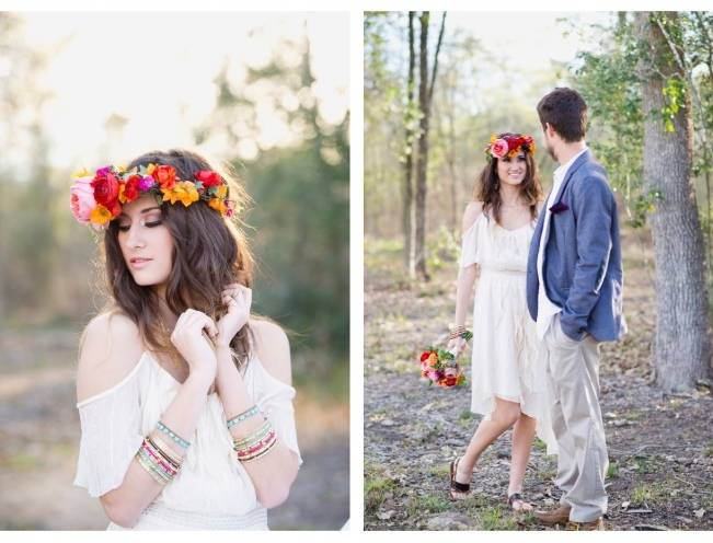 Bohemian Gypsy Bridal Style {Christa Elyce Photography} 6