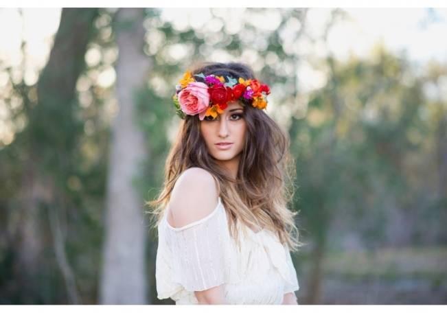 Bohemian Gypsy Bridal Style {Christa Elyce Photography} 8