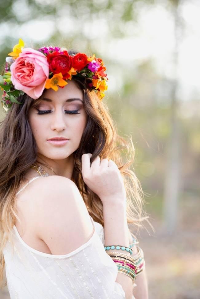 Bohemian Gypsy Bridal Style {Christa Elyce Photography} 9