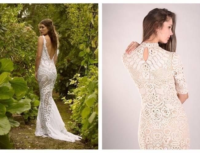 Crochet Wedding Dress Inspiration 4