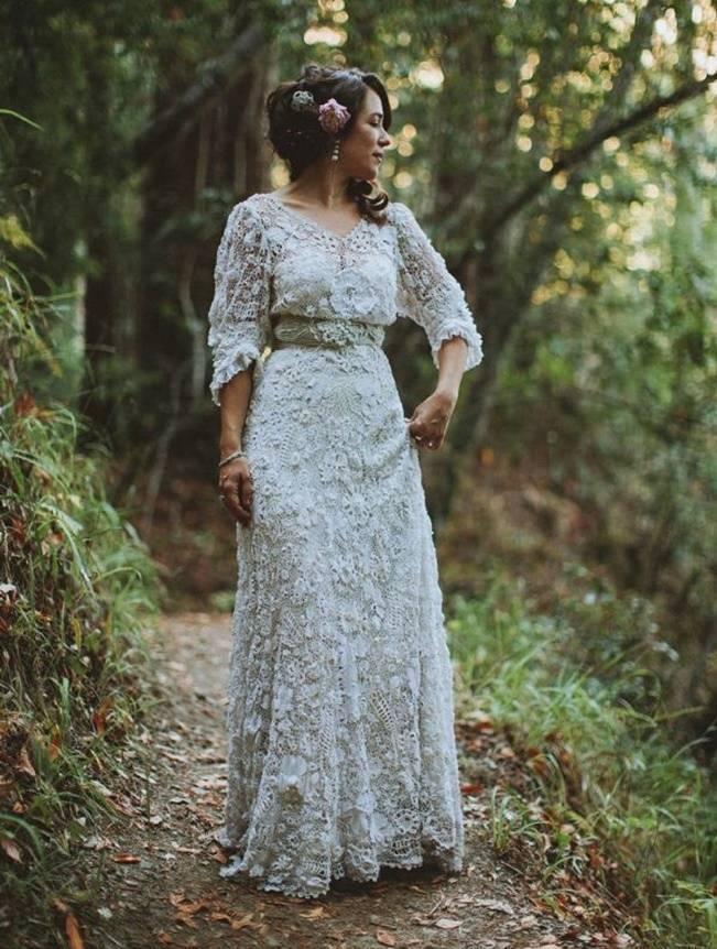 Crochet Wedding Dress Inspiration 5