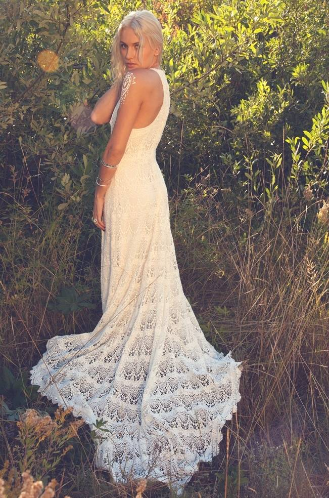 Crochet Clothing : Crochet Irish Lace Wedding Dress newhairstylesformen2014.com
