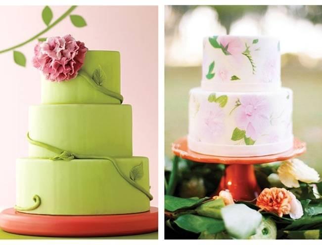 Gorgeous Spring Wedding Cake Inspiration
