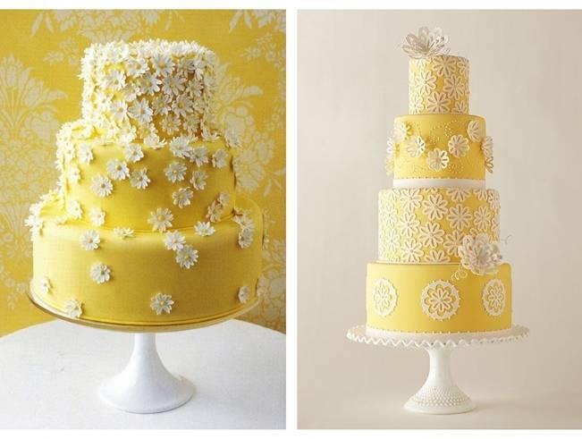 Gorgeous Spring Wedding Cake Inspiration 4