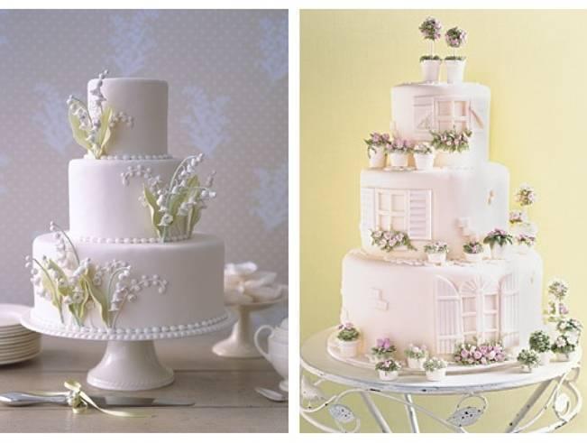 Gorgeous Spring Wedding Cake Inspiration 6