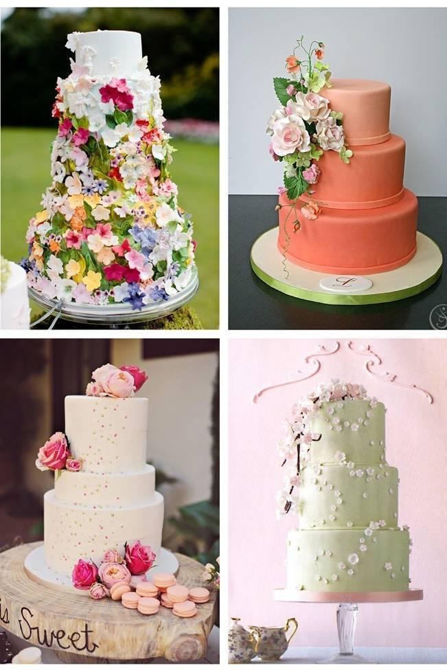 Gorgeous Spring Wedding Cake Inspiration 8