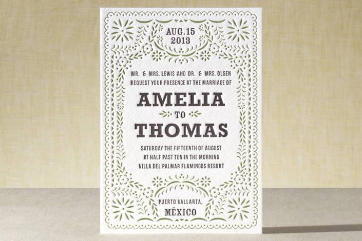 Minted Spring Wedding Stationery Sale!