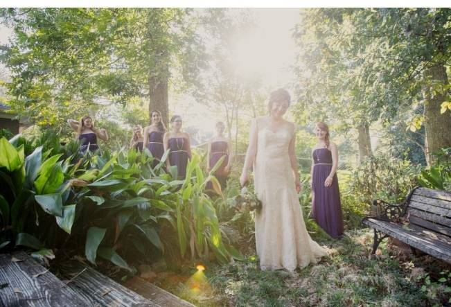 Nature + Vintage Inspired Louisiana Wedding {Heirloom Collective} 10