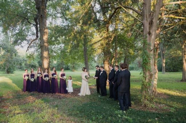 Nature + Vintage Inspired Louisiana Wedding {Heirloom Collective} 16
