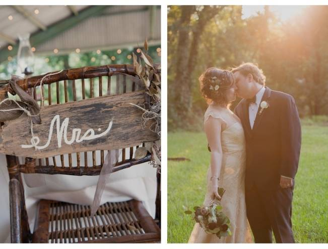 Nature + Vintage Inspired Louisiana Wedding {Heirloom Collective} 18