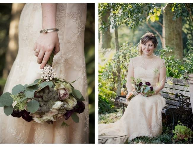 Nature + Vintage Inspired Louisiana Wedding {Heirloom Collective} 2