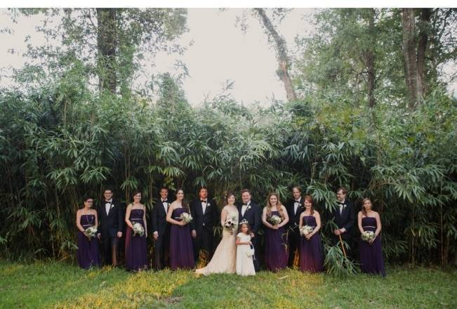 Nature + Vintage Inspired Louisiana Wedding {Heirloom Collective} 20