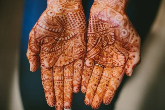 Rustic + Bright Hindu Wedding {Ian Grant Photography}