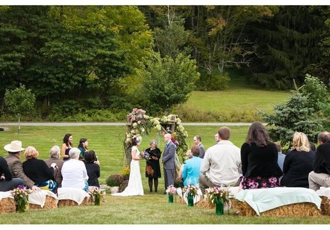 Rustic Chic Farm Wedding {Dustin Weiss Photography} 12